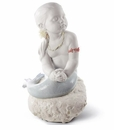 Lladro Princess of the Waves Porcelain Figurine