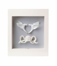 Lladro Romantic Doves Wall Art Porcelain Figurine