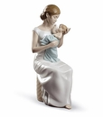 Lladro Soothing Lullaby Figure