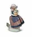 Lladro Spring Is Here Girl Porcelain Figurine