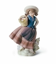 Lladro Sweet Scent Porcelain Figurine