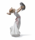 Lladro The Best Of Friends Girl and Puppy Figurine