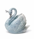 Lladro the Swan Princess Porcelain Figurine