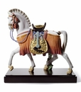 Lladro the White Horse of Hope Porcelain Figurine
