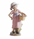 Lladro You're So Cute! Girl Porcelain Figurine
