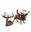Lodge Deer Buffet Stands by SPI Home