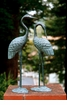 Love Cranes Pair Sculpture by SPI Home