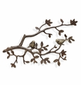 Lovebirds On Branch Wall Plaque by SPI Home