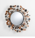 Lucca Iron Wall Mirror by Cyan Design