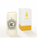 Lucid Liquid Candles -  3x6 Lowey E Natural Pillar Candle