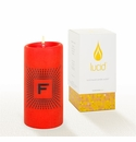 Lucid Liquid Candles -  3x6 Lowey F Kumquat Pillar Candle
