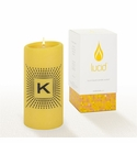 Lucid Liquid Candles -  3x6 Lowey K Daffodil Pillar Candle
