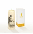 Lucid Liquid Candles -  3x8 Martini Natural Pillar Candle