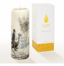 Lucid Liquid Candles -  3x8 Stay On Top Natural Pillar Candle