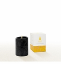 Lucid Liquid Candles -  Black 3x4 Pillar Candle