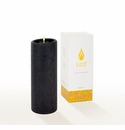 Lucid Liquid Candles -  Black 3x8 Pillar Candle
