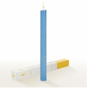 Lucid Liquid Candles -  French Blue 1x11 Dinner Candle