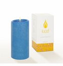Lucid Liquid Candles -  French Blue 3x6 Pillar Candle