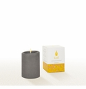 Lucid Liquid Candles -  Gray 3x4 Pillar Candle