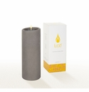 Lucid Liquid Candles -  Gray 3x8 Pillar Candle