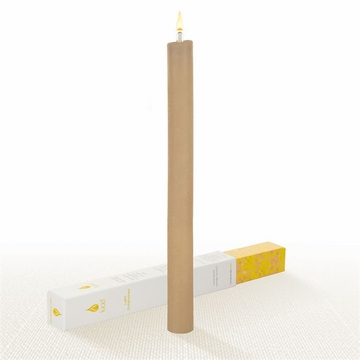Lucid Liquid Candles -  Khaki 1x11 Dinner Candle