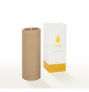 Lucid Liquid Candles -  Khaki 3x8 Pillar Candle