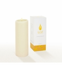 Lucid Liquid Candles -  Natural 3x8 Pillar Candle
