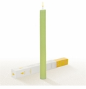 Lucid Liquid Candles -  Pistachio 1x11 Dinner Candle