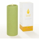 Lucid Liquid Candles -  Pistachio 3x8 Pillar Candle
