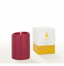 Lucid Liquid Candles -  Ruby 3x4 Pillar Candle