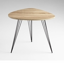 Lunar Landing Oak Side Table by Cyan Design