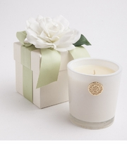 Lux Candles -  Cape Jasmine Flower Box Candle 14Oz
