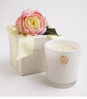 Lux Candles -  Grapefruit Flower Box Candle 14 Oz