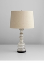 Luxe Golden Crackle Glass Lamp by Cyan Design