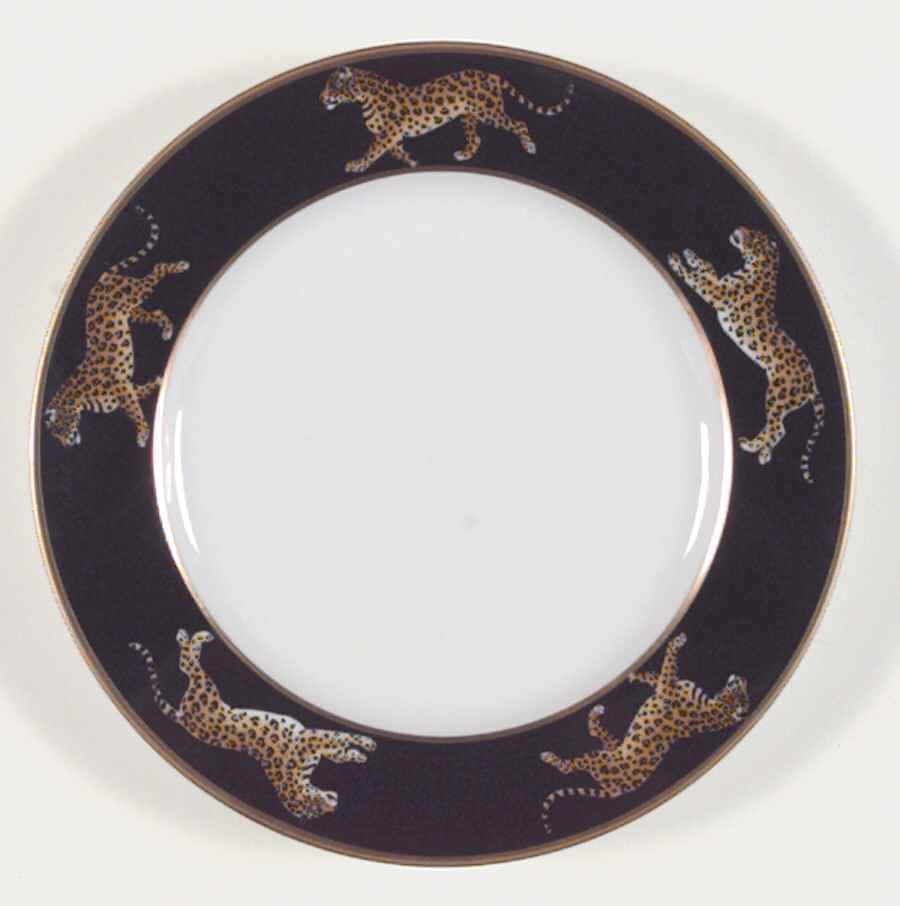 Lynn Chase Jaguar Jungle Bread and Butter Plate  sc 1 st  Distinctive Decor & Lynn Chase Jaguar Jungle Bread and Butter Plate $31.49 You Save $10.50