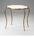 Marble and Iron Side Table by Cyan Design