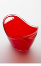 Mario Luca Giusti Acrylic Champagne Basket Red