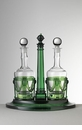 Mario Luca Giusti Acrylic Oil & Vinegar Set Green