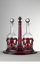 Mario Luca Giusti Acrylic Oil & Vinegar Set Red