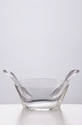 Mario Luca Giusti Acrylic Salad Bowl With Servers Clear