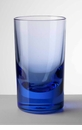Mario Luca Giusti Acrylic Whiskey Highball Royal Blue