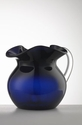 Mario Luca Giusti Maria Acrylic Pitcher Royal Blue