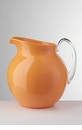 Mario Luca Giusti Palla Fluorescent Acrylic Pitcher Orange
