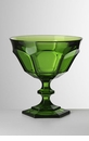 Mario Luca Giusti Victoria Acrylic Footed Coupe Green