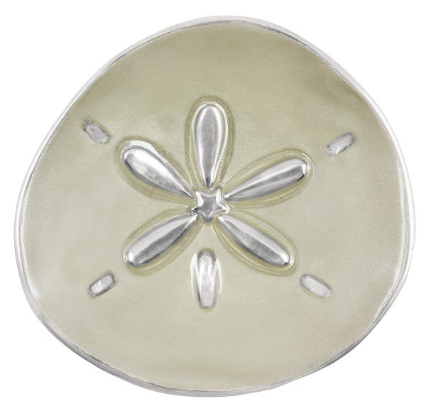 Mariposa sand dollar canape plate sand for What is a canape plate