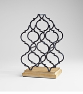 Marrakech Tower Table Top Wine Rack by Cyan Design