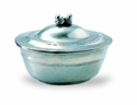 Match Italian Pewter Acorn Lidded Bowl
