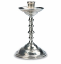 Match Italian Pewter Arno Candlestick