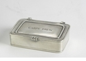 "Match Italian Pewter ""Carpe Diem"" Box Small"