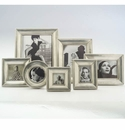 Match Italian Pewter Como Rectangle Frame Large